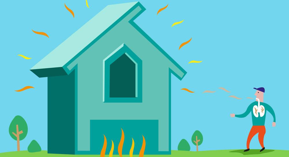 Asbestos House Radon